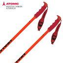 ATOMIC アトミック スキー ポール ストック <2021>REDSTER CARBON RED/BLACK AJ5005636 20-21 旧モデル