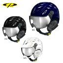 CP〔シーピー スキーヘルメット〕<2020>CP CUMA SWV バイザー付き