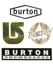 BURTON 2017FW Throwback Sticker Pack【正規品】ステッカー4枚セット