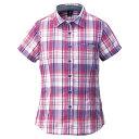 ショッピングモンベル mont-bell WIC.ライト シングルポケット ハーフスリーブシャツ Women's チェリーレッド モンベル【正規品】