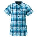 ショッピングモンベル mont-bell WIC.ライト シングルポケット ハーフスリーブシャツ Women's ブルー モンベル【正規品】