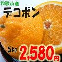 訳あり・和歌山産 不知火(しらぬい)(通称デコポン) 5kg...