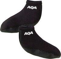 AQA スノーケリングソックス2 KW-4268 ブラック S〜Lの画像