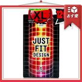 ◆「あす楽対象」「リニューアル新発売」「男性向け避妊用コンドーム」不二ラテックス ジャストフィット(JUST FIT) XL size 12入り「C0226」 ※完全包装でお届け致します。【HLS_DU】