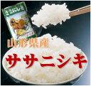 【新米 28年産】【送料無料】山形県産ササニシキ 白米 5kg