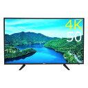 WiS 4K 液晶テレビ 50型(50インチ 50V) THD-50UGW 【メーカー1年保証】【代引不可】