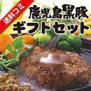 【送料込み】鹿児島産 黒豚 ギフトセット(ゆず ハンバーグ・...