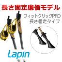 Lapin Core コア 長さ固定タイプ ノルディックウォーキングポール