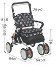テイコブ(Tacof) レコルティ2 SLT10 幸和製作所 介護用品 シルバーカー 折りたたみ 押し車 シルバーカート