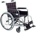 自走式車いす リーズ ガートル掛け付 MW-22ST 車椅子 介護用品 hkz