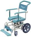 シャワーキャリー ラージキャスターサイサポートタイプ 入浴用車いす 入浴用車椅子