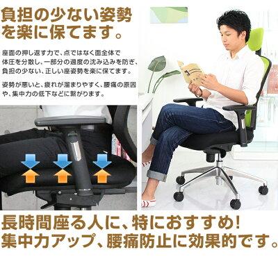 【送料無料/即納】★4.6以上の高評価!高反発オフィスチェアメリストオフィスチェアーチェアパソコンチェアパソコンチェアーいす椅子イスハイバックメッシュチェアーデスクチェアデスクチェアーOAチェアロッキングチェア疲れにくい腰痛腰痛対策