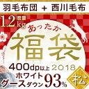 ★あったか福袋2018★【羽毛布団+西川毛布】【送料無料】【...
