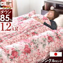 ★在庫限り!10,800円★【送料無料】 日本製 羽毛布団 ...