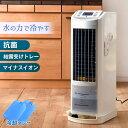 見やすい液晶パネル!【送料無料】 冷風機 冷風扇 抗菌 リモ...