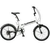【コンビニ後払いOK】HUMMER ハマー HUMMER FDB206 W-sus 折りたたみ自転車 OTM-10557