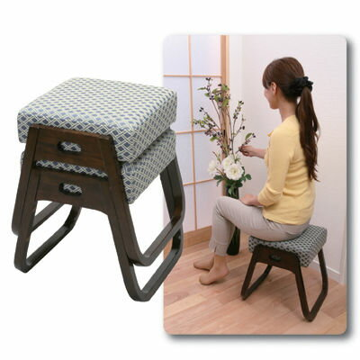 GTC 座・楽椅子 2脚組 870247 【送料無料】座・楽椅子 2脚組