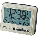 【カード決済OK】MAG デジタル電波時計「エミルマライト」(シャンペンゴールド) T-670-CGM