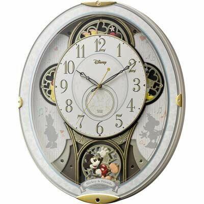 【代引手数料無料】リズム時計 ミッキー&フレンズ 4MN509MC03