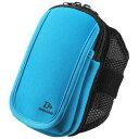 サンワサプライ アームバンドスポーツケース(Mサイズ・5.2インチ・ブルー) PDA-ARM3BL