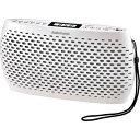 オーム電機 Audio Comm ポータブルCD/MP3/ラジオ(ホワイト) RCR-90Z-W