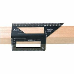 シンワ測定 シンワ測定 一発止型定規 ポリカーボネート   62112 4960910621121