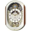 セイコークロック セイコー 電波掛け時計(電波からくり時計) ウェーブシンフォニー RE562H E181304H
