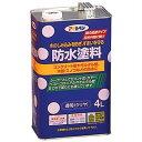 アサヒペン アサヒペン 防水塗料 透明(クリヤ) 4L E286642H【納期目安:3週間】