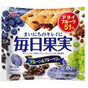 江崎グリコ グリコ 毎日果実 ブルーベリー&ブルーベリー 6枚入×10個 E356220H