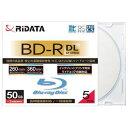 アールアイジャパン RiDATA 録画用BD-R(DL) 5枚パック (スリムケース) BDR260PW6X5PSCA【納期目安:約10営業日】