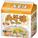 東洋水産 マルちゃん みそ味ラーメン 北海道限定 5食パック E458932H
