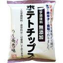 深川油脂工業 【ケース販売】化学調味料無添加ポテトチップス のり南蛮味 55g×12個 E474896H