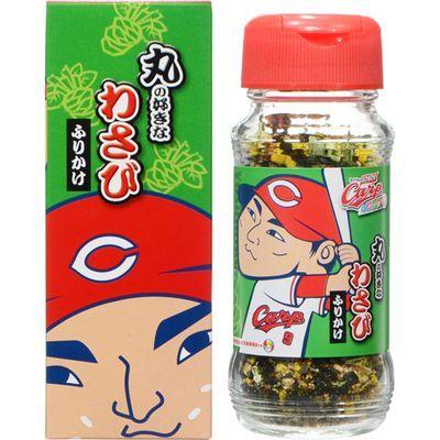 田中食品 カープふりかけ 丸の好きなわさびふりかけ 48g E497661H
