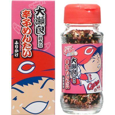 田中食品 カープふりかけ 大瀬良の好きな辛子めんたいふりかけ 52g E497664H