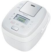パナソニック 5.5合可変圧力IHジャー炊飯器(ホワイト) SR-PB108-W【納期目安:03/26入荷予定】