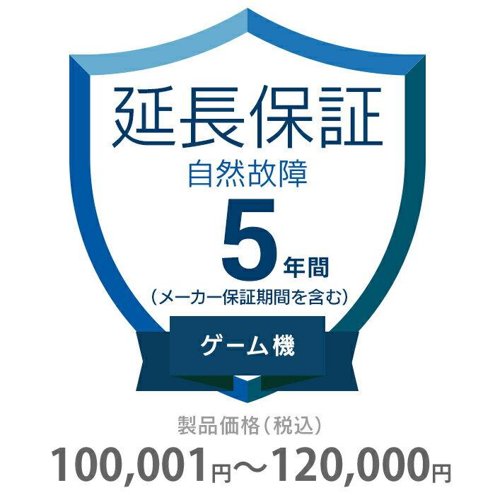 その他 5年間延長保証 自然故障 ゲーム機 100001〜120000円 K5-SG-253321