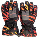 エァウォーク AW【紳士用】 スキー5指手袋 AWー6123 オレンジ サイズ=L (オレンジサイズ=L) AW-6123-ORL