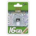 オーム電機 マイクロSDHCメモリーカード(CLASS10/16GB) PC-MM16C0