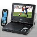 【送料無料】7V型「ワンセグチューナー内蔵」ワイド液晶ポータブルDVDプレーヤー「ムービッシュ」サンヨー DVD-HP700ND