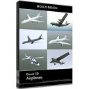 DOSCH DESIGN DOSCH 3D: Airplanes D3D-AIR