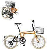 DOPPELGANGER ドッペルギャンガー 20インチ フォールディングバイク Mobility Six(モビリティ シックス) m6ORANGE