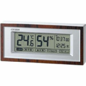リズム時計 デジタル温湿計 ライフナビD207A...の商品画像