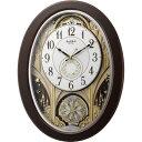 【代引手数料無料】リズム時計 スモールワールドジューン 4MN526RH06