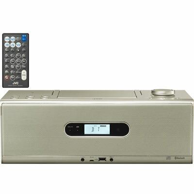【あす楽対応_関東】【代引手数料無料】ビクター Bluetooth/NFC機能搭載CDポータブルシステム (RDW1N)(シャンパンゴールド) RD-W1-N