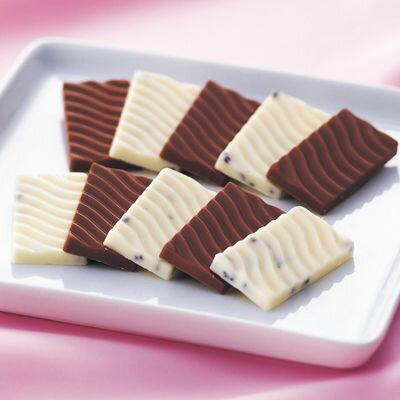 その他北海道名産北海道チョコレート(N)2種44枚入り(ミルクチョコ、クッキーインホワイトチョコ各2