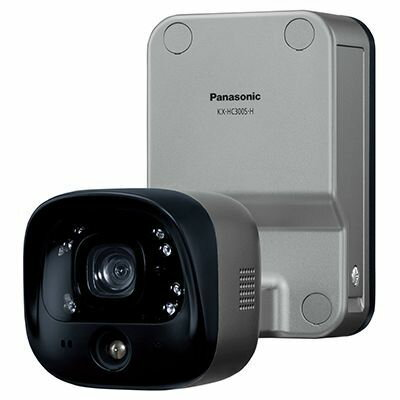 パナソニック 屋外バッテリーカメラ KX-HC300S-H