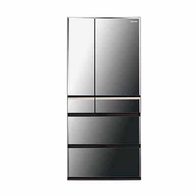 パナソニック フレンチ6ドアパーシャル搭載665L冷蔵庫 (NRF673WPVX) NR-F673WPV-X