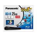 パナソニック 録画用 BD-R 1-4倍速 25GB 10枚+50GB 1枚 LM-BR25LW11
