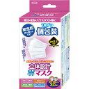 東京企画販売 立体設計 ダブルワイヤーマスク 個包装 女性・子供用サイズ 30枚入 E480800H