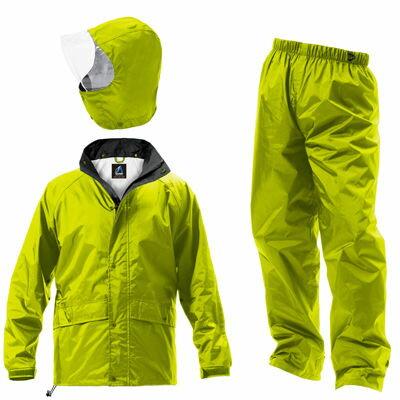Makku(マック) マック フェニックス 2 全4色 7サイズ レインスーツ 上下 フラッシュ グリーン EL 防水透湿コーティング 2レイヤー 止水テープ DD-08433
